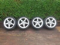 """18"""" pento wheels from a vauxhall astra"""