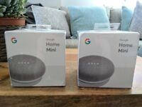 Google Home Mini - Brand new & in original packaging