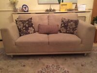 Used Sofas - 3&2 Seater With An Armchair Plus 8 Cushions