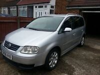 Volkswagen Touran SE 2.0 TDI 7 Seater Automatic Turbo Diesel. Exchange for Prius of same age/value.