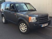 2006 Land Rover Discovery 3 2.7 TDV6 SE.. AUTO.. SAT NAV.. LEATHER.. 7 SEATS.. 4x4.. NOT HSE, BMW X5