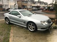 MERCEDES BENZ SL350 AMG SPEC SL55 AMG AMAZING CAR LOOKS LIKE NEW MINT CONDITION LOW MILLAGE 250BHP