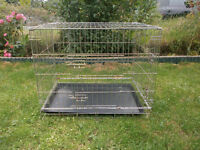 Foldable Metal Dog / Pet Cage