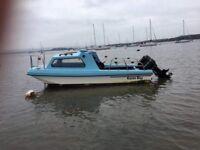 17 ft dory type boat