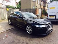 2013 Audi A6 2.0 TDi S line **High Spec ** Salvage Damaged Repairable a4 a5 a8 Cat-D passat