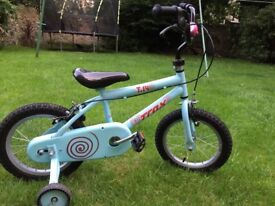 Nearly new kids bike