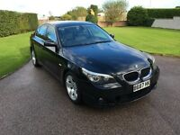 BMW 530D SE Auto E60. 2003 2 owners from new. Black MOT till Sep 2017
