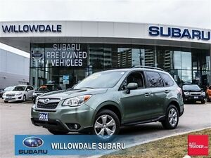 2014 Subaru Forester 2.5L No Accidents, One Owner, Off Lease