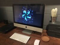 "iMac 21.5"" 2.5GHz Intel Core i5 with upgraded 12GB RAM"