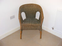 Lloyd loom chair in good original condition