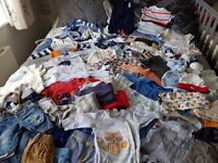 0-3 month old bundle. Over 70 items brill condition