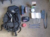 Job lot of camping gear