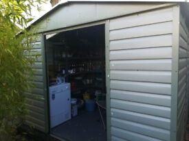 Yardmaster metal shed