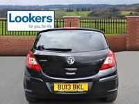 Vauxhall Corsa SE (black) 2013-04-30