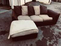Small left or right hand corner sofa