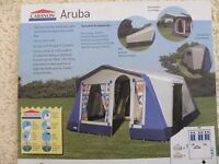 6 berth aruba frame tent with masses of accessories £350 Almost 2k's worth of Kit great condition
