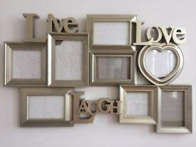 Live-Love-Laugh Photo Frame