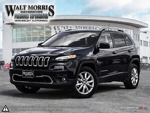 2016 Jeep Cherokee Limited - LEATHER, NAV, PWR SUNROOF