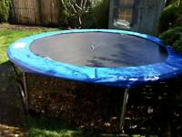 10 foot diameter outdoor trampoline