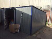 2No Tin Storage Sheds