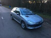Peugeot 206 1.6 Manual Petrol 5doors
