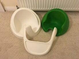 Mamas and papas baby snug bumbo with tray. Bumbo. Green insert. Fantastic condition