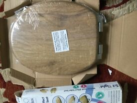 Croydex 'Sit Tight' Toilet Seat - soft close - new in box