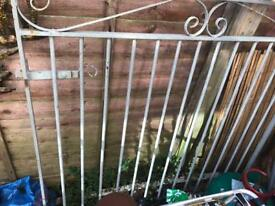 Solid Metal fabricated gate