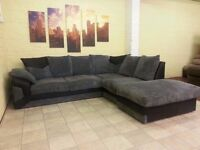 Large Right Arm Corner Sofa - High Density Foam Seats