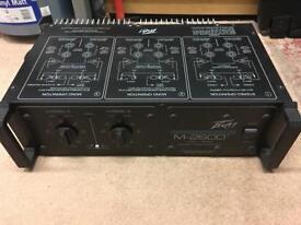 Peavey M-2600 Mark V Series Stereo Power Amplifier