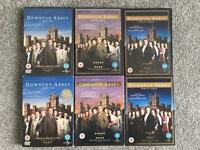 Downton Abbey series 1-3 DVDs