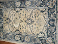 Next Green/Gold Antique Style Rug 100 x 145 cm
