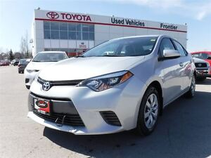 2015 Toyota Corolla LE TOYOTA CERTFIED PRE OWNED