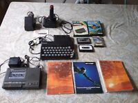 Sinclair ZX spectrum 48k retro games console.
