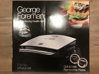 George Foreman 4-Portion Grill (Brand New)