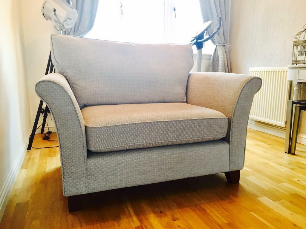 Next 2 Seater Brompton Snuggle Sofa Chair New In