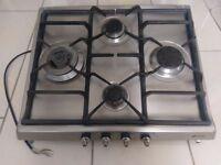Smeg SER60SGH3 Gas Hob Stainless Steel
