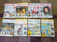 Paint & Draw Magazine Issues 1-8