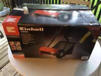 Einhell push-along grass cutter
