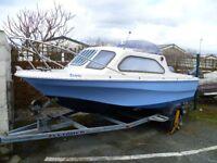 Fast Fishing Boat 17' Shetland 50hp Yamaha four stroke