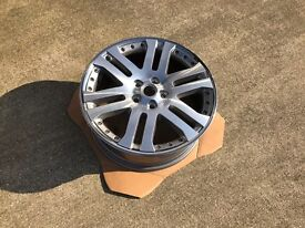 Land Rover Range Rover Diamond Turned Wheel