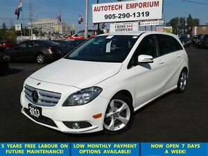 2013 Mercedes-Benz B-Class B250 Prl White Camera/Leather/HtdSeat