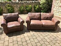 John Lewis Maddison sofa and chair