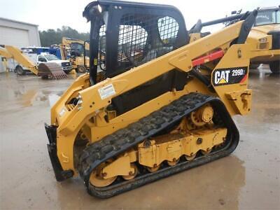 2017 Caterpillar 299d2 Track Skid Steer Loader Cat 299d