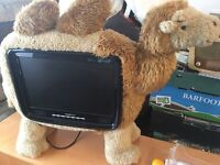"""HANNspree TV CAMEL COVER HDMI READY HD READY 19"""" with REMOTE CONTROL"""