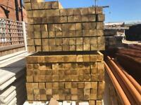 ☀️Pressure Treated Wooden Posts > £10.00