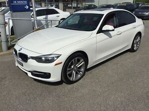 2014 BMW 3 Series 320i XDRIVE*CUIR*ROUGE/TOIT/MAGS/FOGS