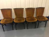 4 stunning vintage chairs free local delivery