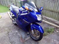 honda cbr1100 super blackbird 2004