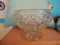 Lovely large glass bowl